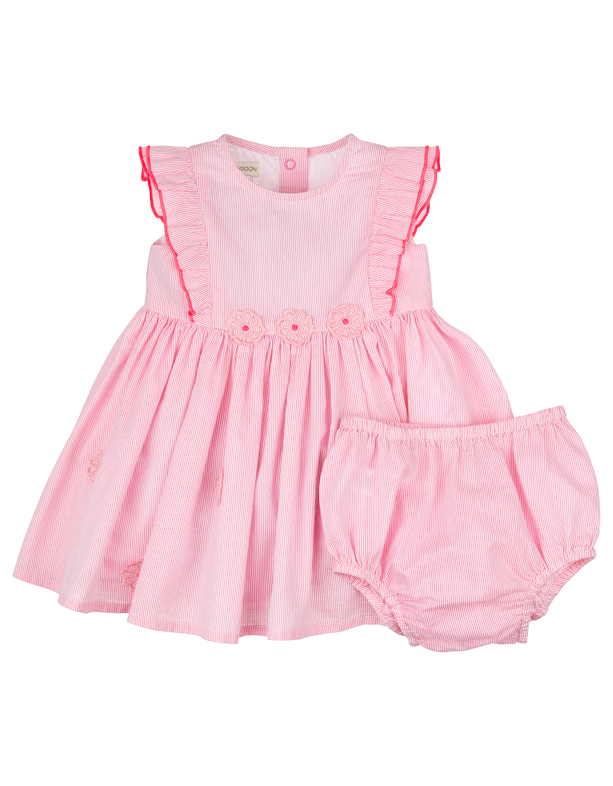 Monsoon Newborn Baby Flora Dress