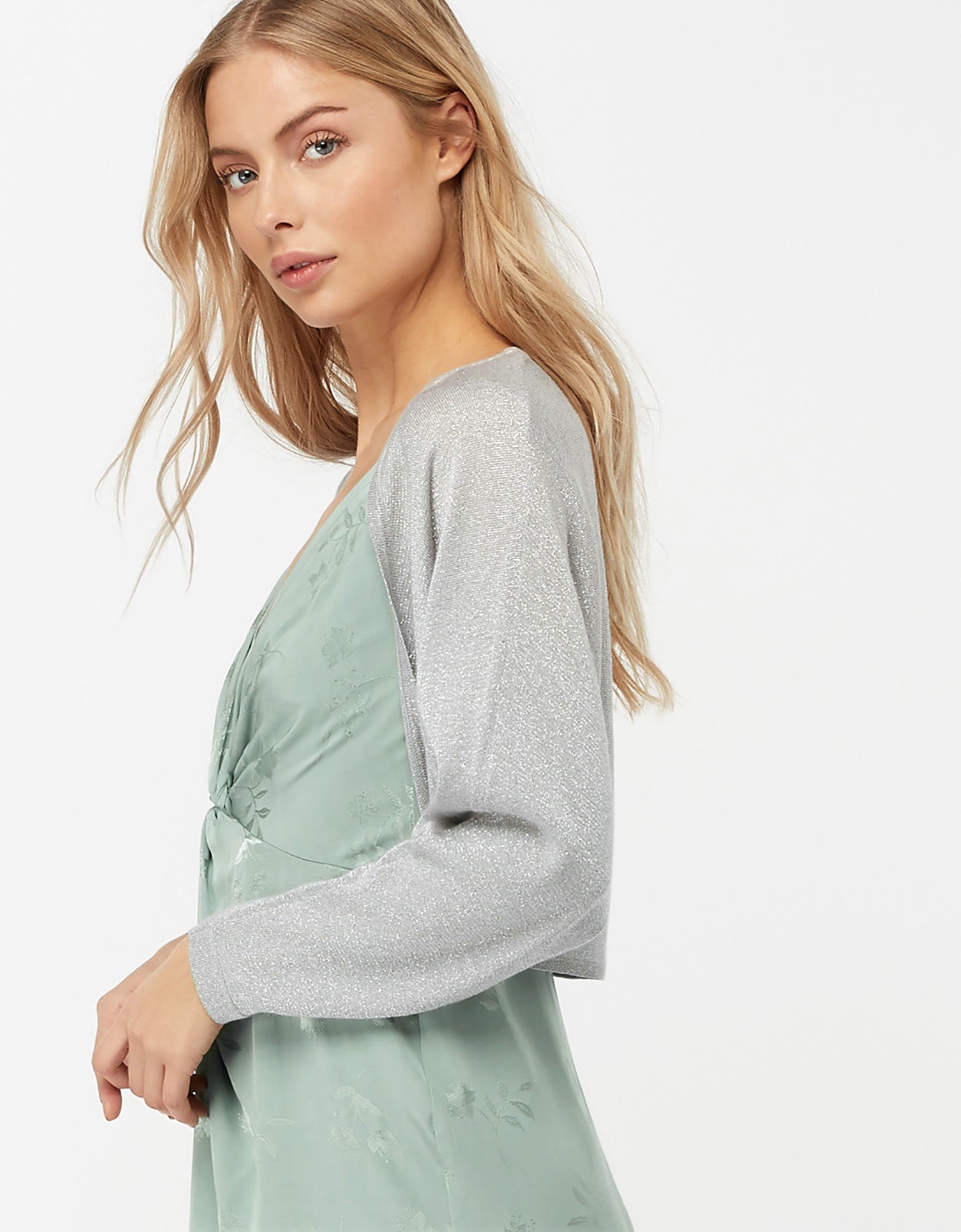 Monsoon Daisy Dolman Shrug