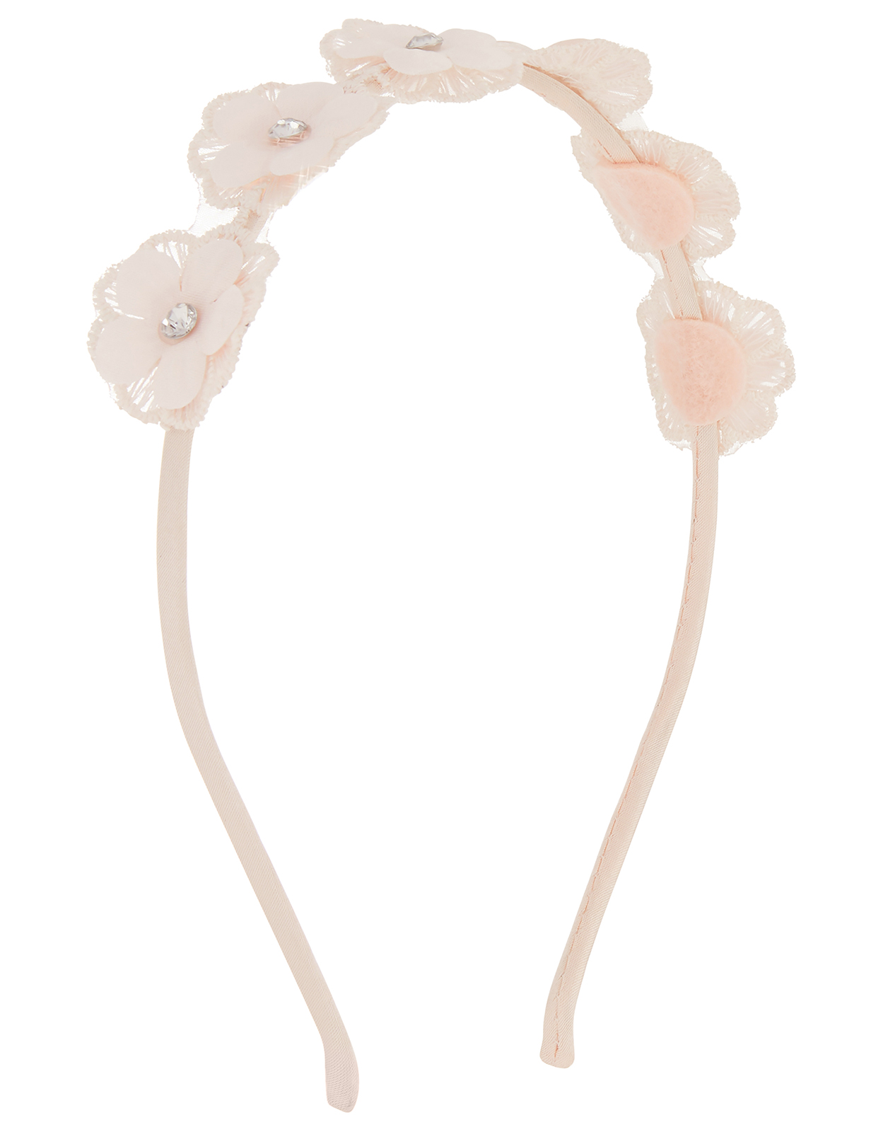 Monsoon Estella Lace Flower Alice Band