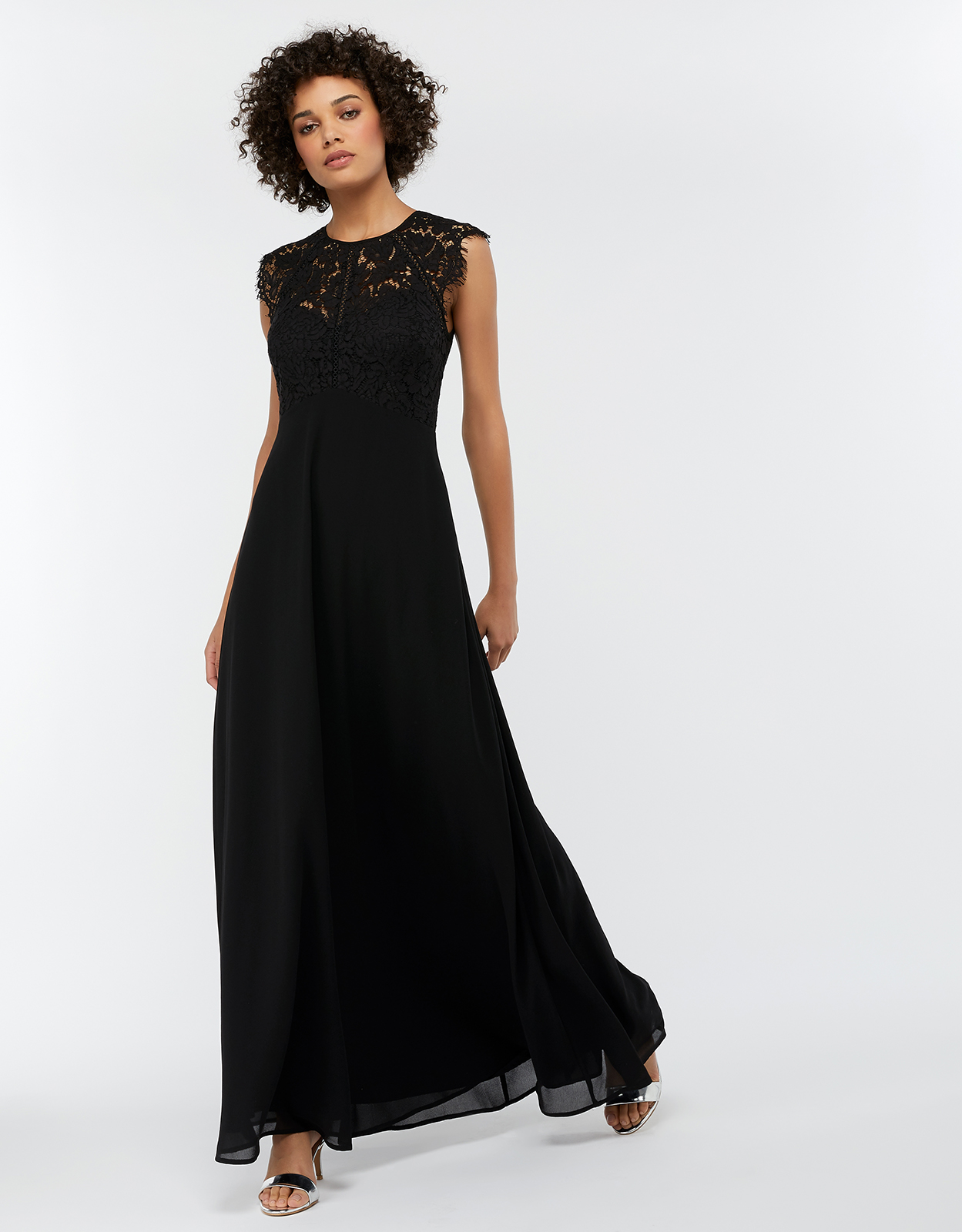 Monsoon Morgane Lace Maxi Bridesmaid Dress
