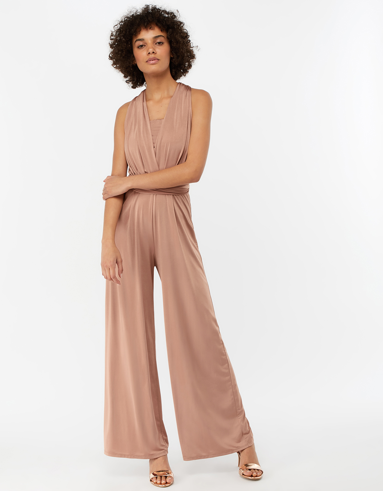 Monsoon Taylor Twist Me Tie Me Bridesmaid Jumpsuit