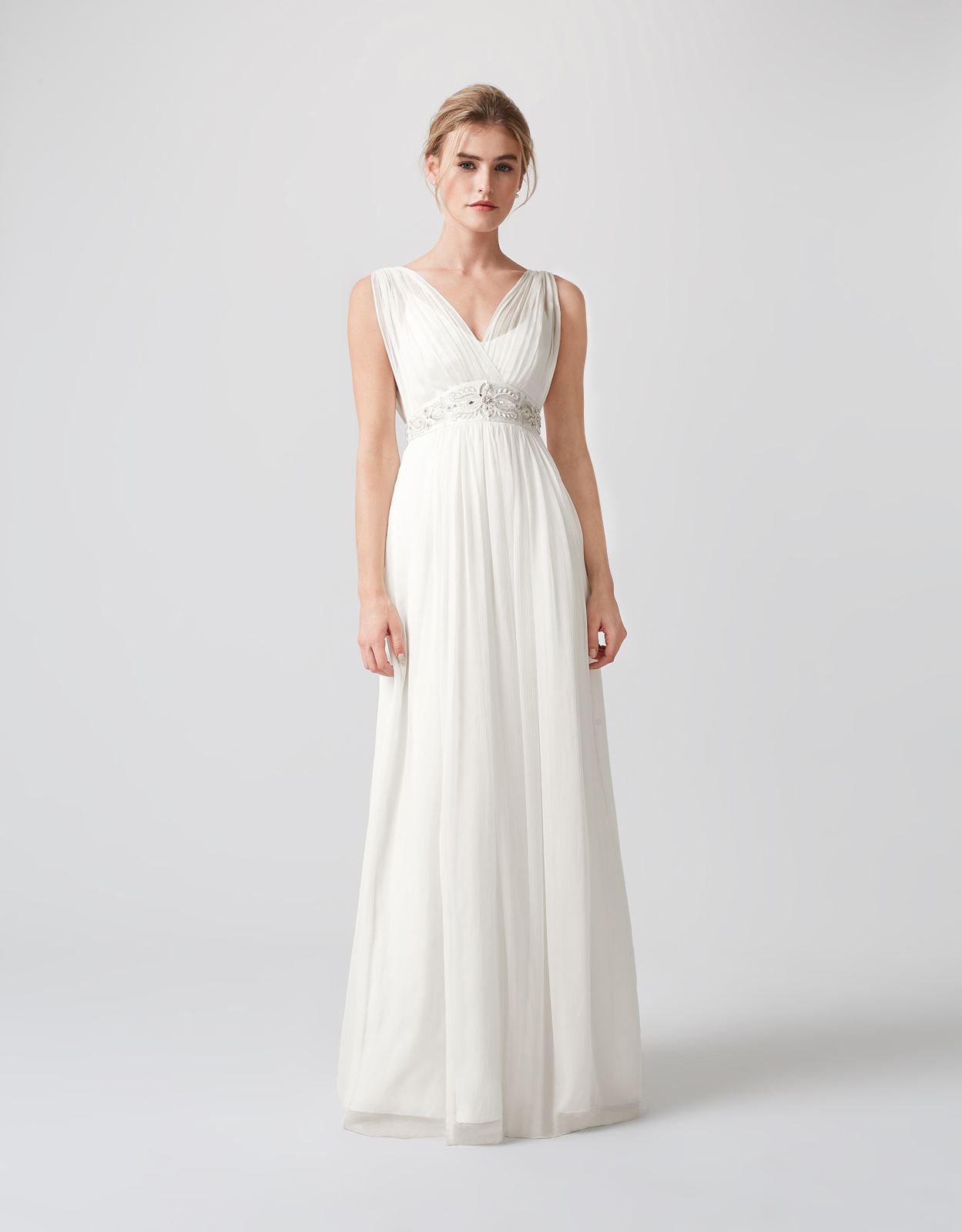 Monsoon Lucia Embellished Bridal Dress