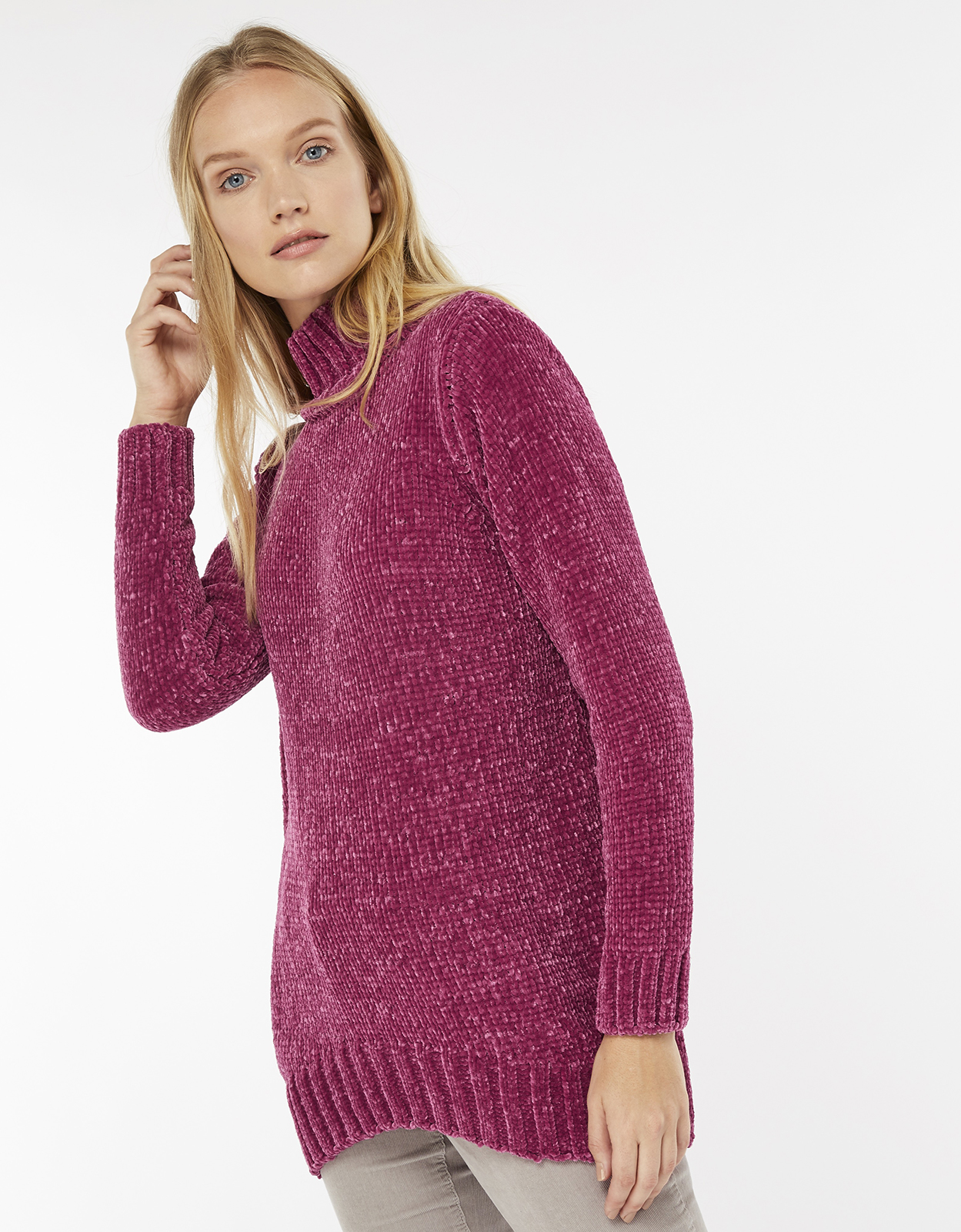 Monsoon Harley High Neck Chenille Jumper