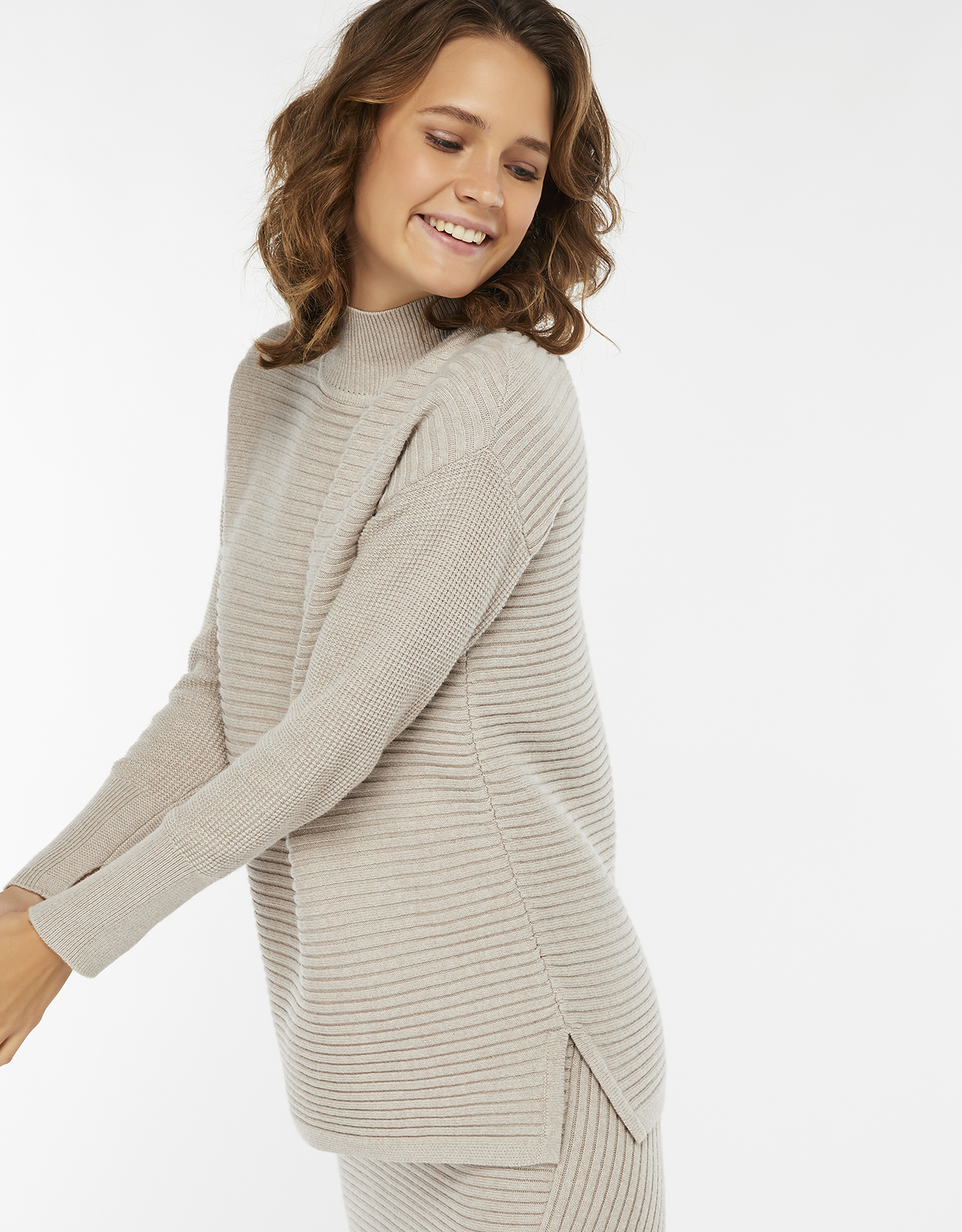Monsoon Alea Ribbed Co-ord Jumper