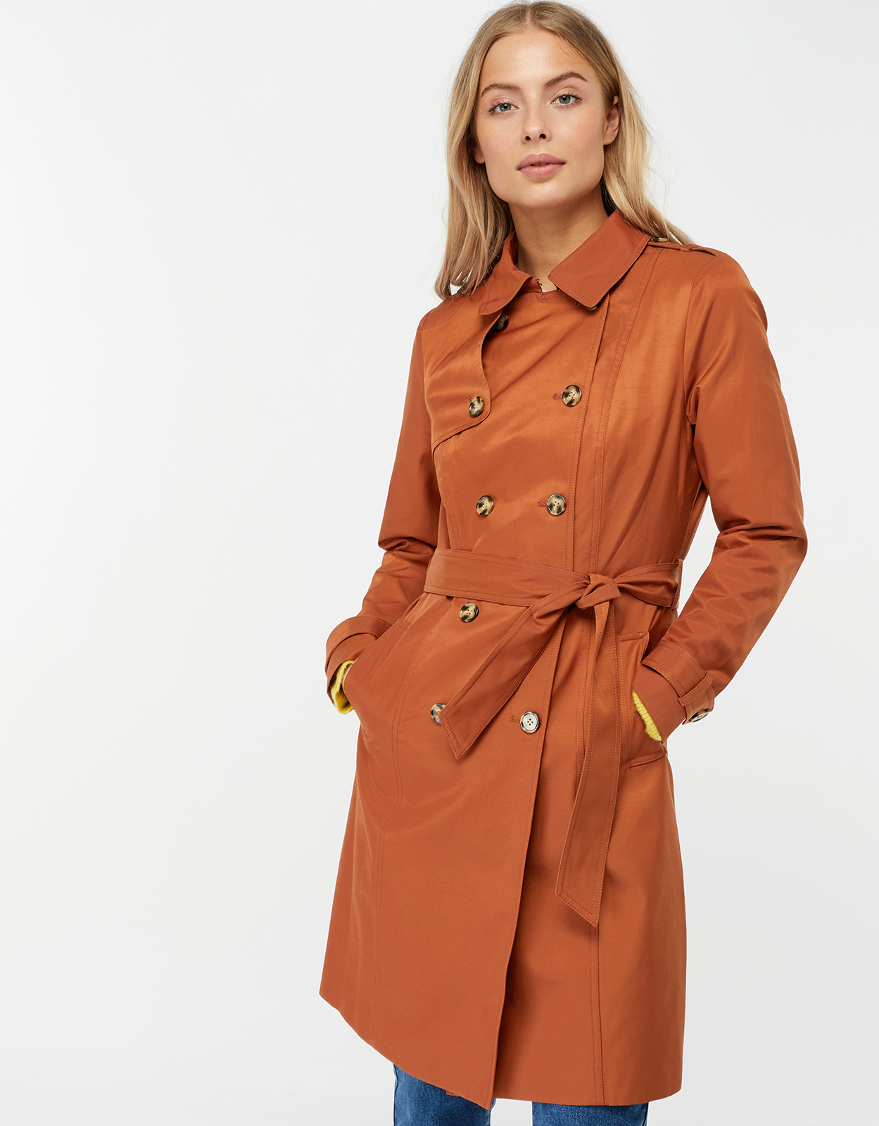 Monsoon Serena Trench Coat