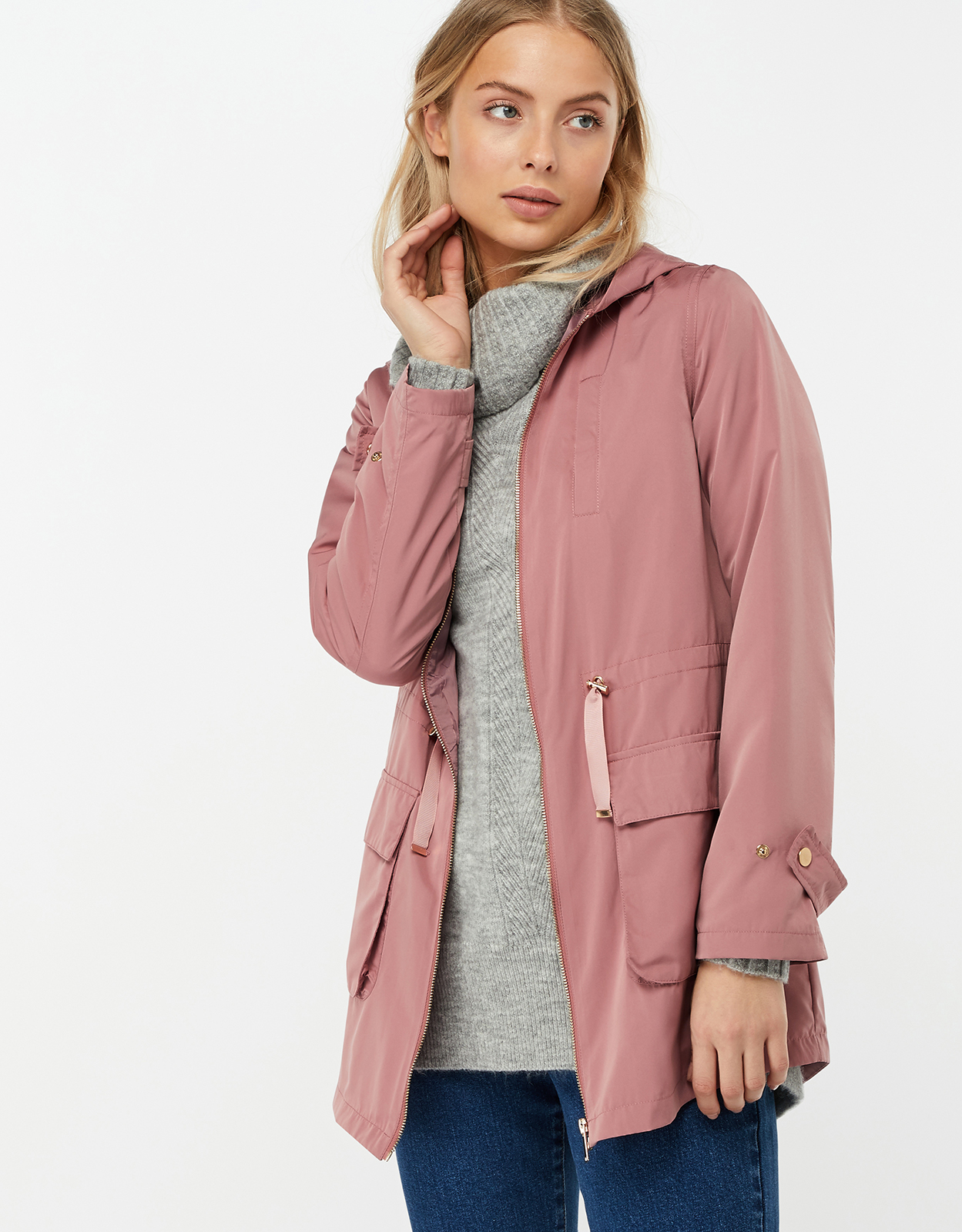 Monsoon Annie Lightweight Parka Jacket